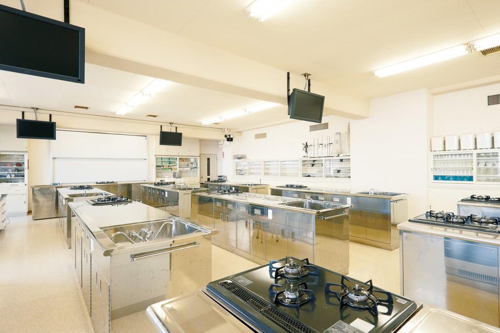 調理学実習室