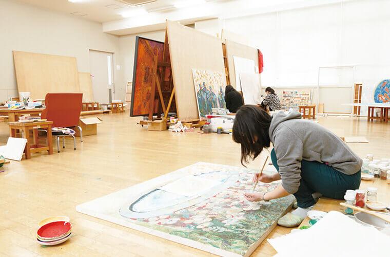 絵画実習室(日本画・洋画)