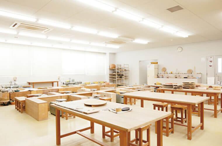 陶芸実習室