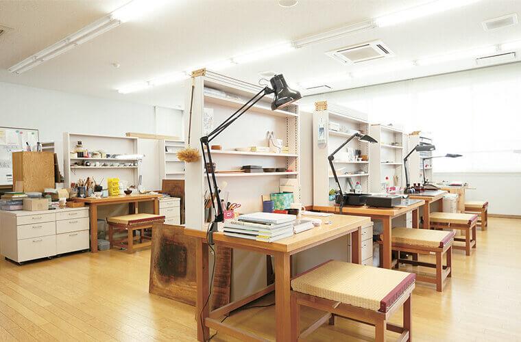 漆芸実習室