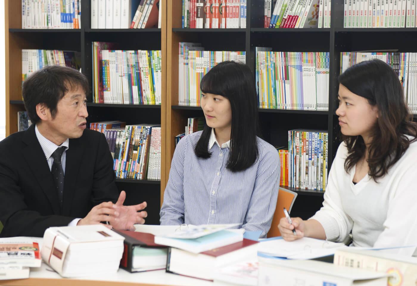 全学科で教員免許が取得可能 イメージ