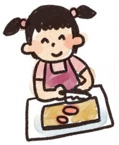 料理する人